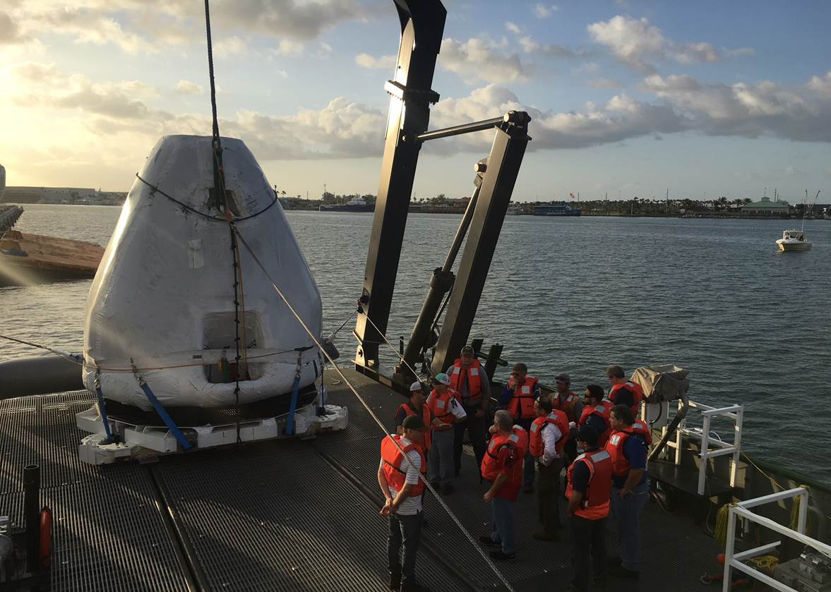 SpaceX Recovery Training
