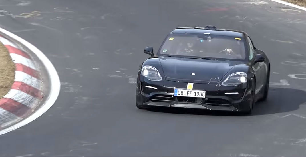 Porsche Mission E Nurburgring [Credit: EMS Nordschleife TV/YouTube]