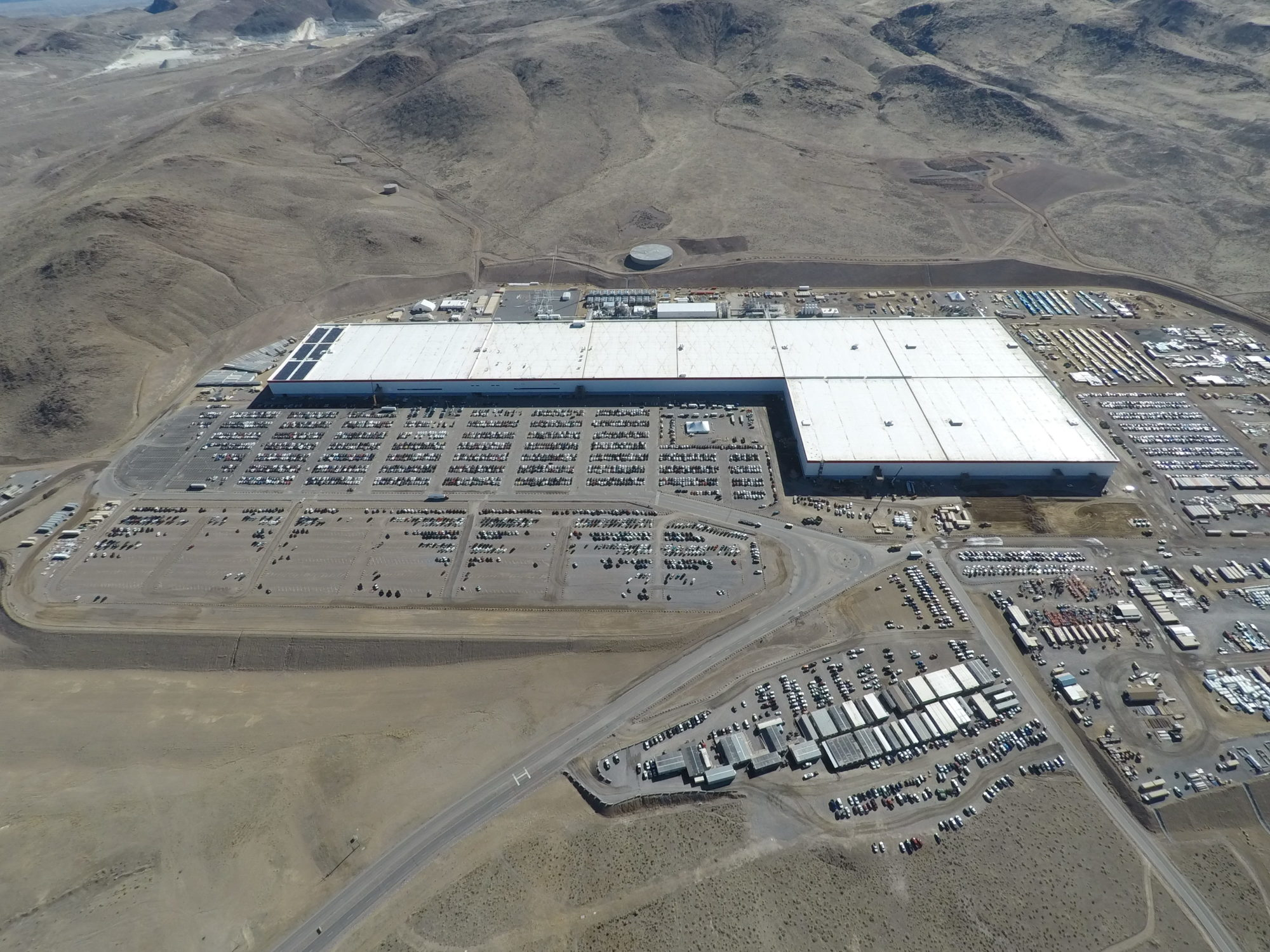 Tesla GIgafactory 1 as of March 12, 2018 [Credit: Teslarati]