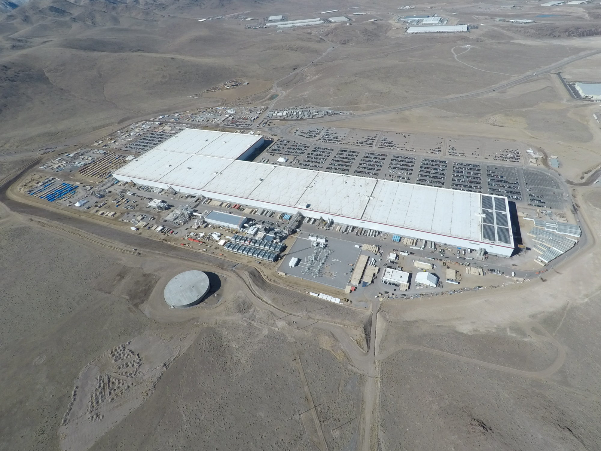 Tesla GIgafactory 1 as of March 12, 2018 (2) [Credit: Teslarati]
