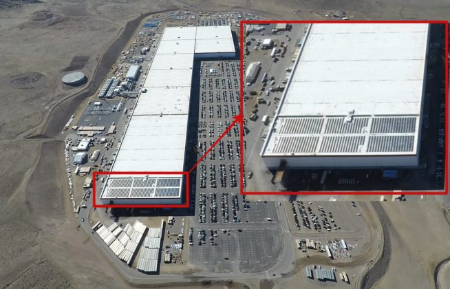 Tesla Gigafactory 1 New Aerial Pictures Tease Facility S
