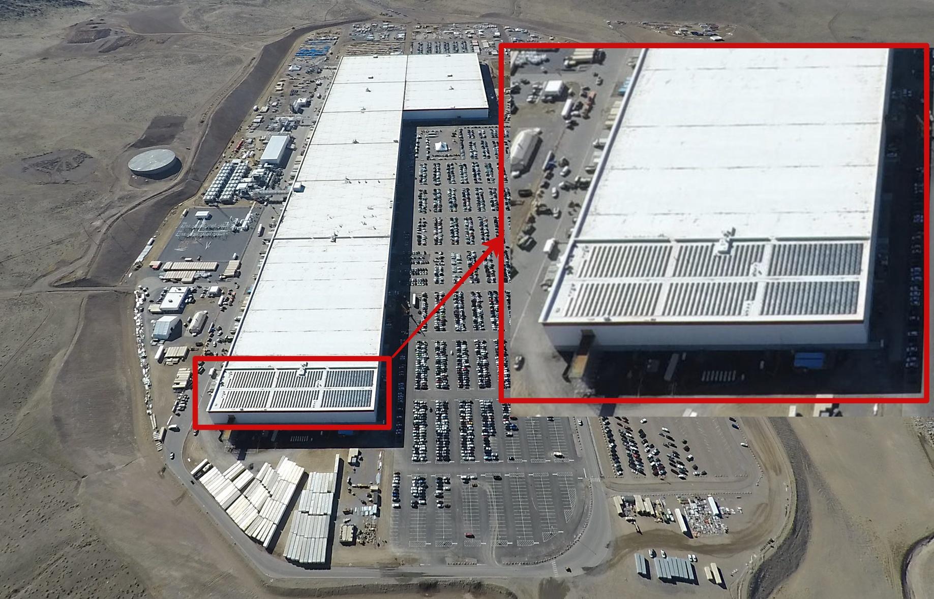 Tesla Powerwall Price >> Tesla Gigafactory 1 rooftop solar array - TESLARATI