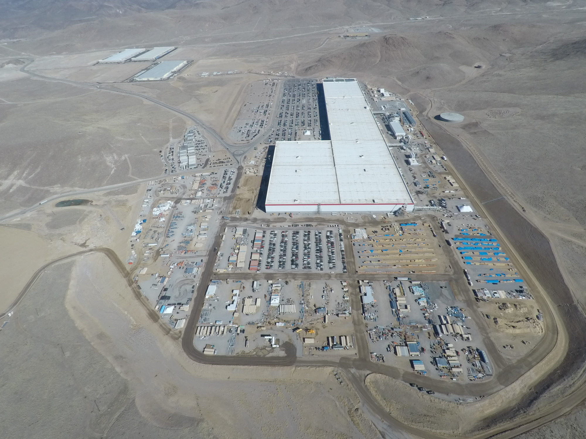 Tesla GIgafactory 1 as of March 12, 2018 (3) [Credit: Teslarati]