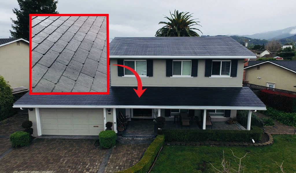 Elon Musk Solar Shingles >> Tesla's Solar Roof tiles showcased in new residential installation pictures