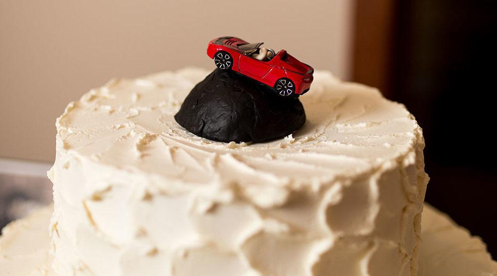 Tesla themed wedding 3 [Credit: Leigh Ann Burdett/Secret Leigh Photography]