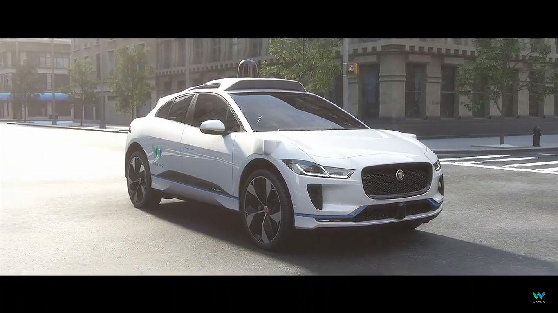 Waymo Jaguar I-Pace self driving car 1 [Credit: Waymo/YouTube]
