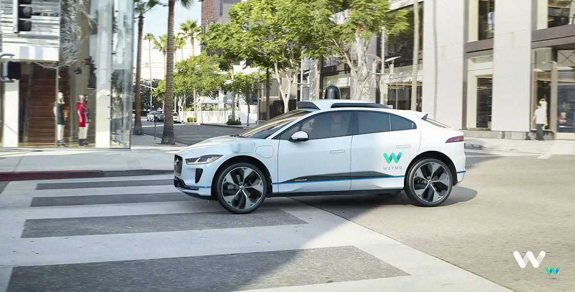 Waymo Jaguar I-Pace self driving car 4 [Credit: Waymo/YouTube]