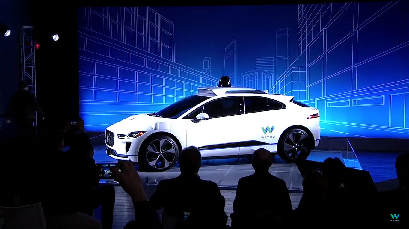Waymo Jaguar I-Pace self driving car 5 [Credit: Waymo/YouTube]