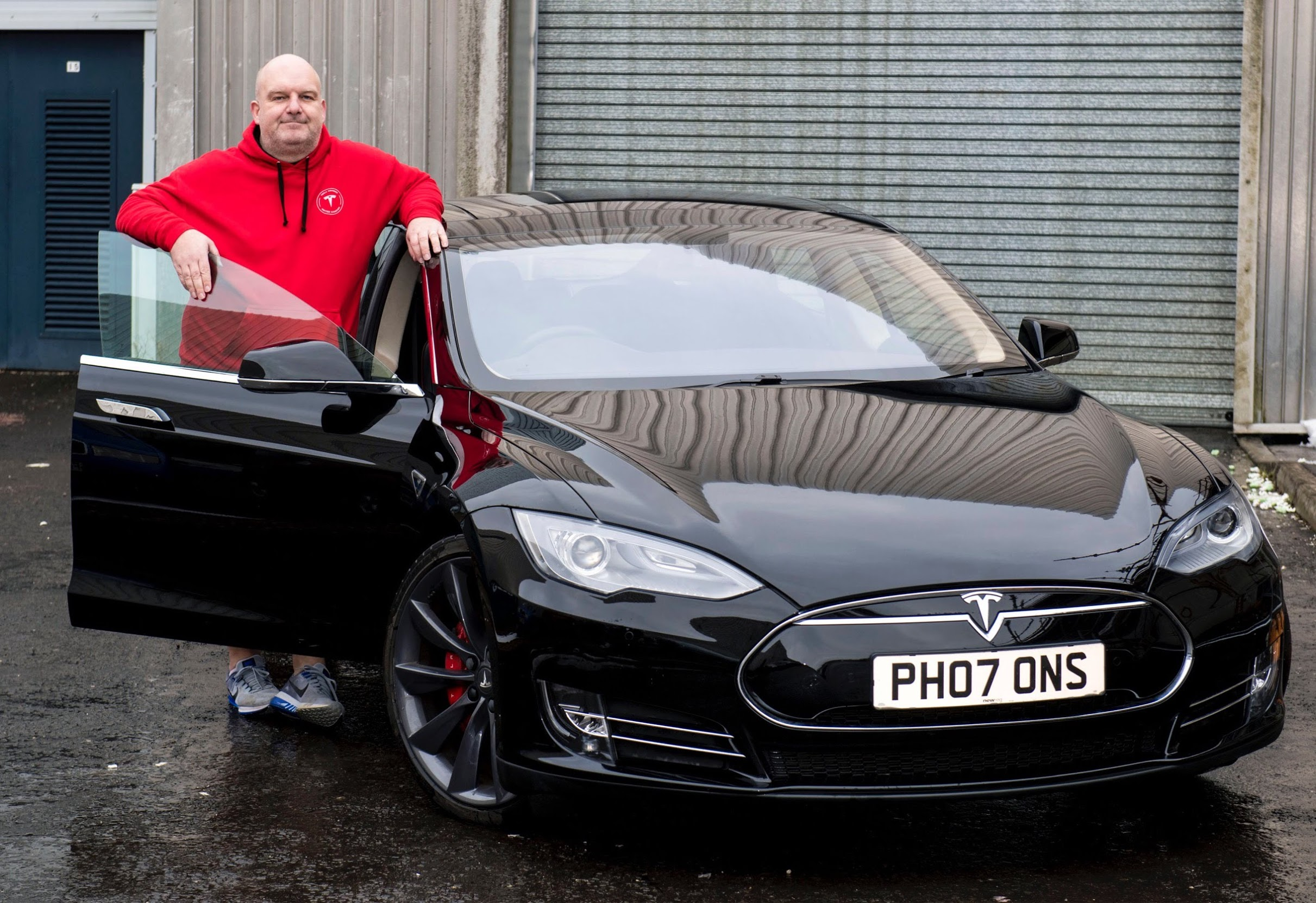 Tesla Owner Donates His Model S To A Museum Exhibit In Scotland