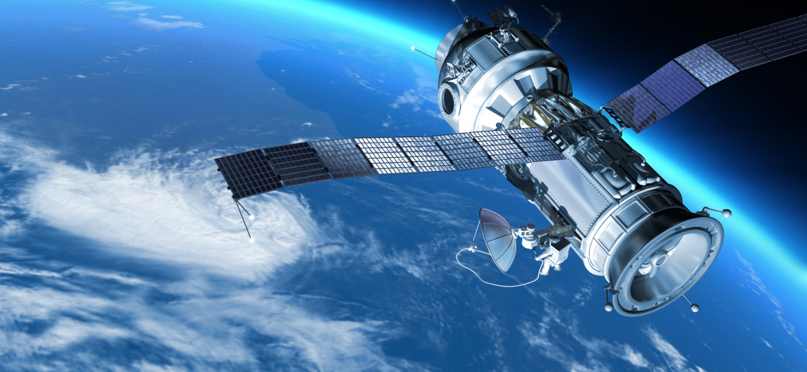 space-satellite-earth
