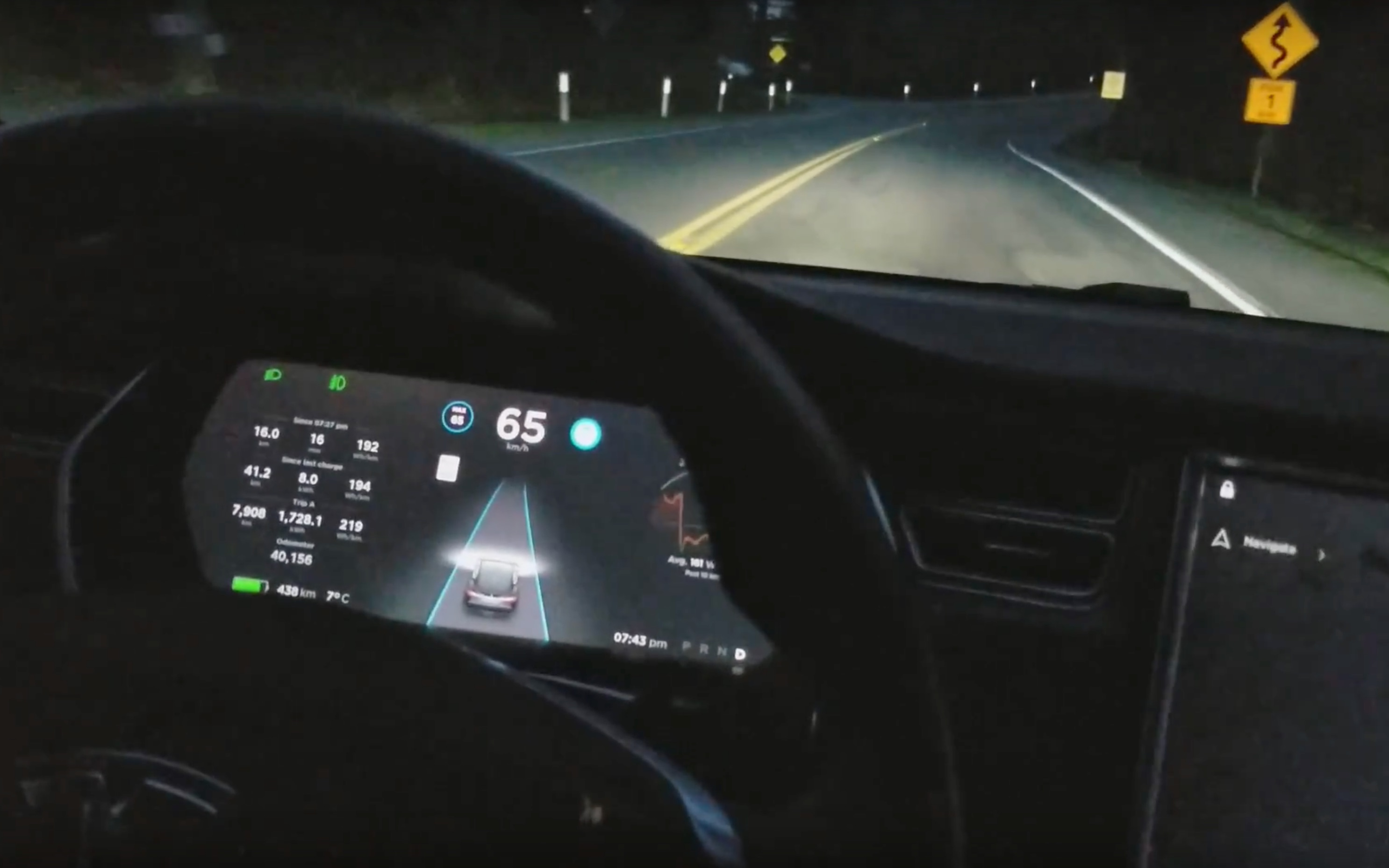 Tesla's latest Autopilot rewrite is getting rave reviews