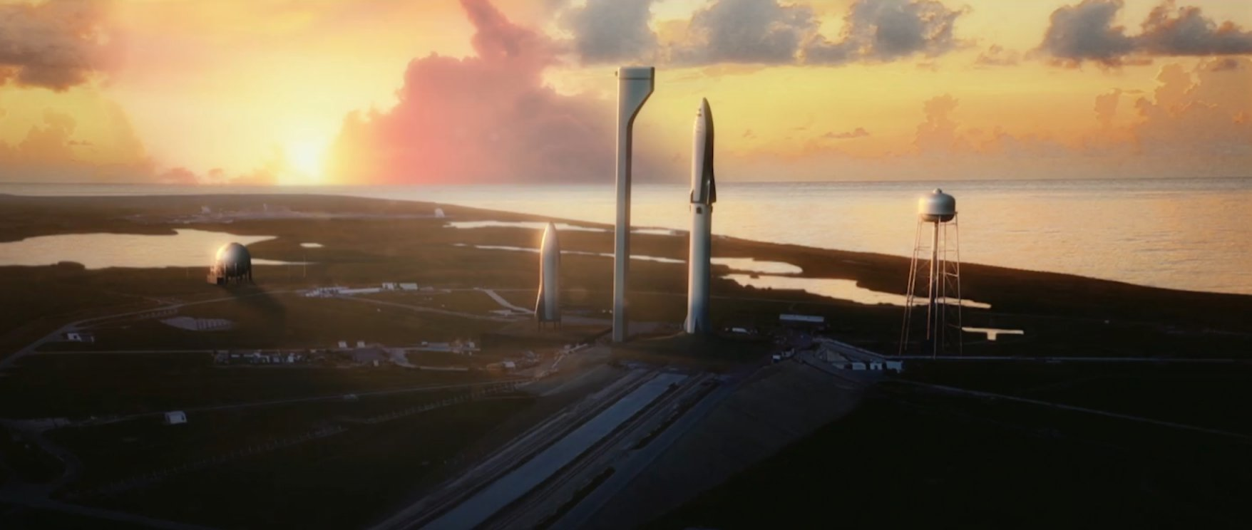 BFR at 39A (SpaceX)