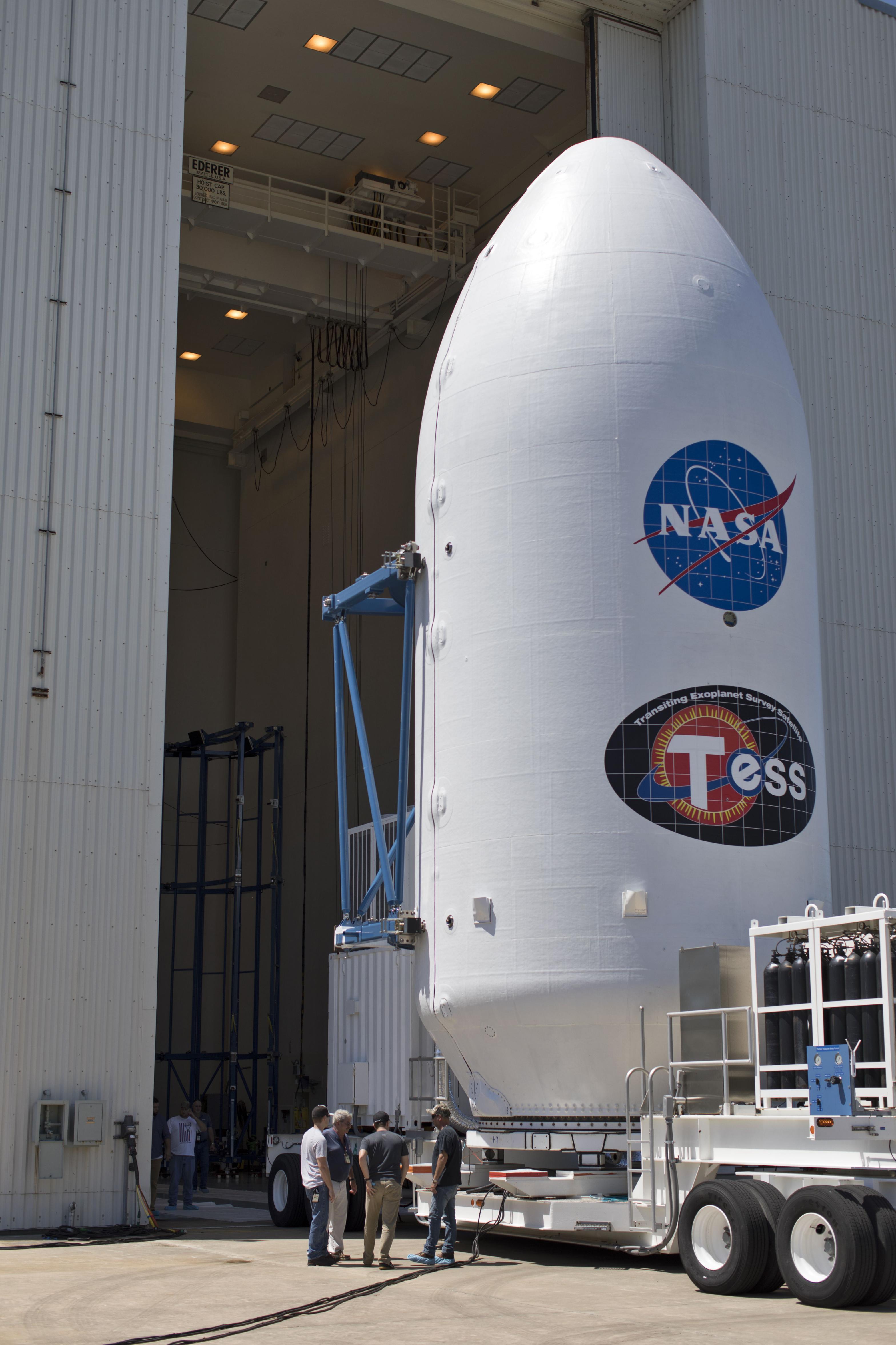Fairing 2 and TESS 3 (NASA)(c)