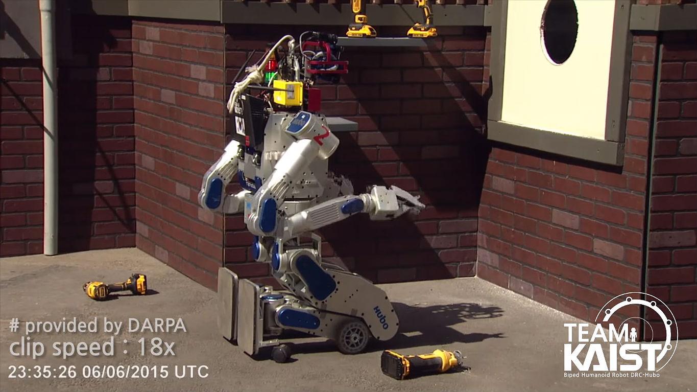 KAIST DARPA robot 4 [Credit: HuboLab KAIST/YouTube]