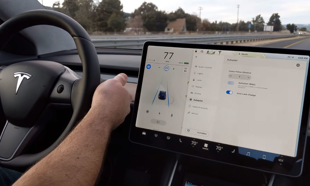 Tesla rolls out driving visualizations, Sentry Mode updates, and new safety features
