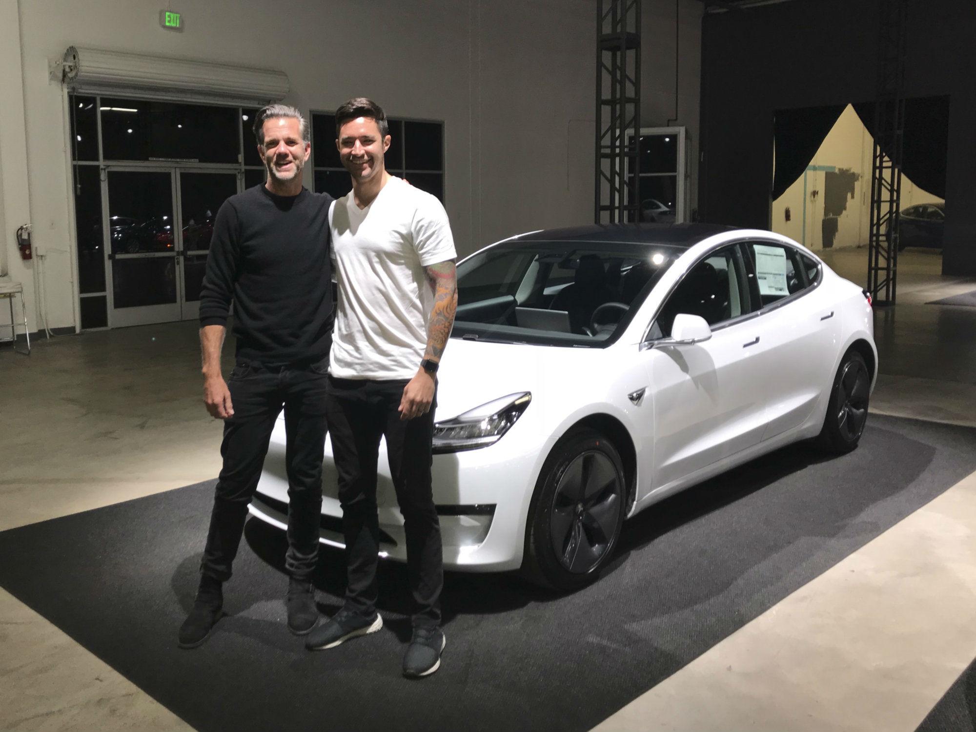 Model 3 delivery Franz 1a [Credit: Andre Mercier/Tesla Motors Club]