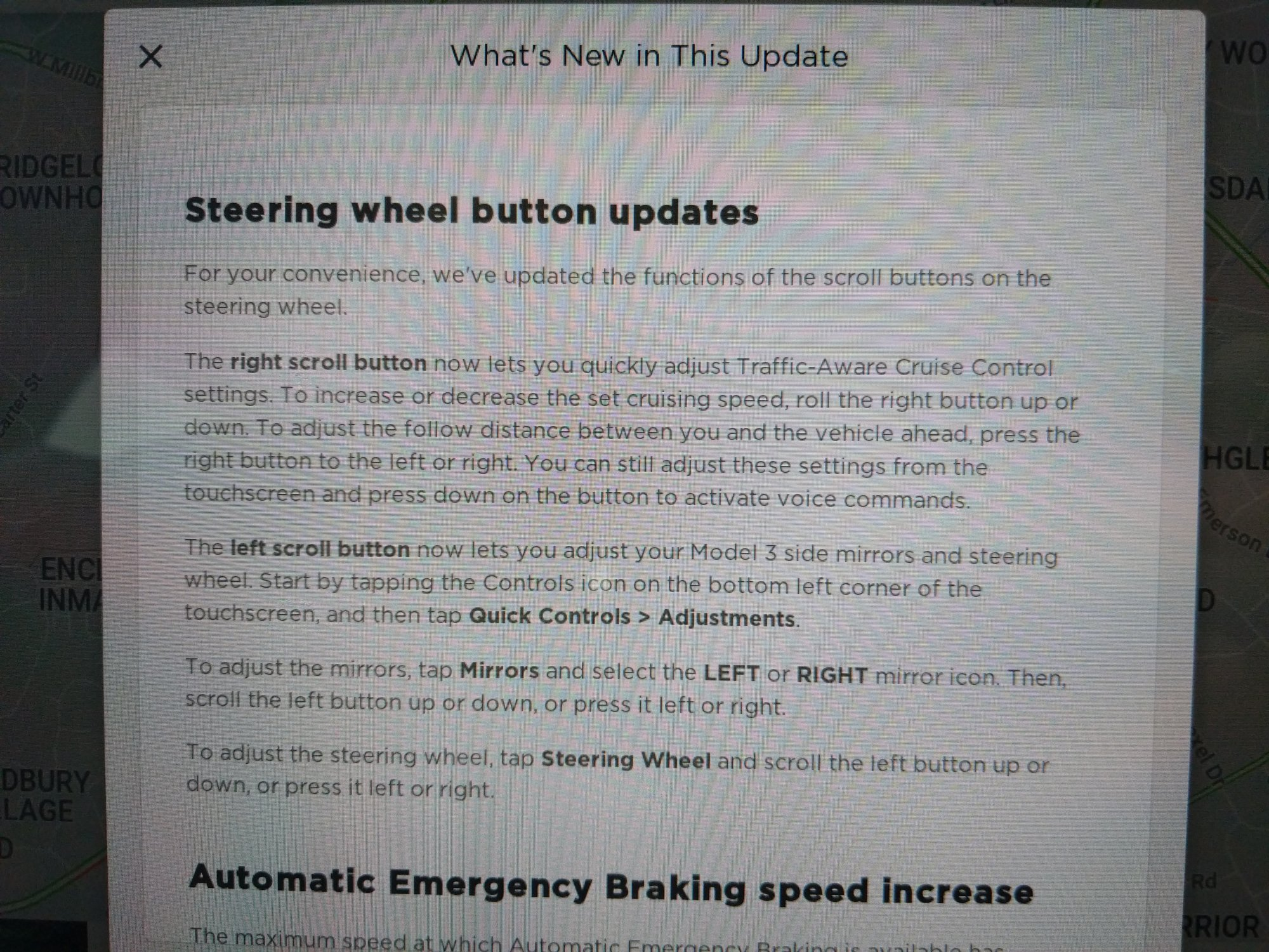 Model 3 steering wheel AP controls 2 [Credit: Fhrust/Tesla Motors Club]