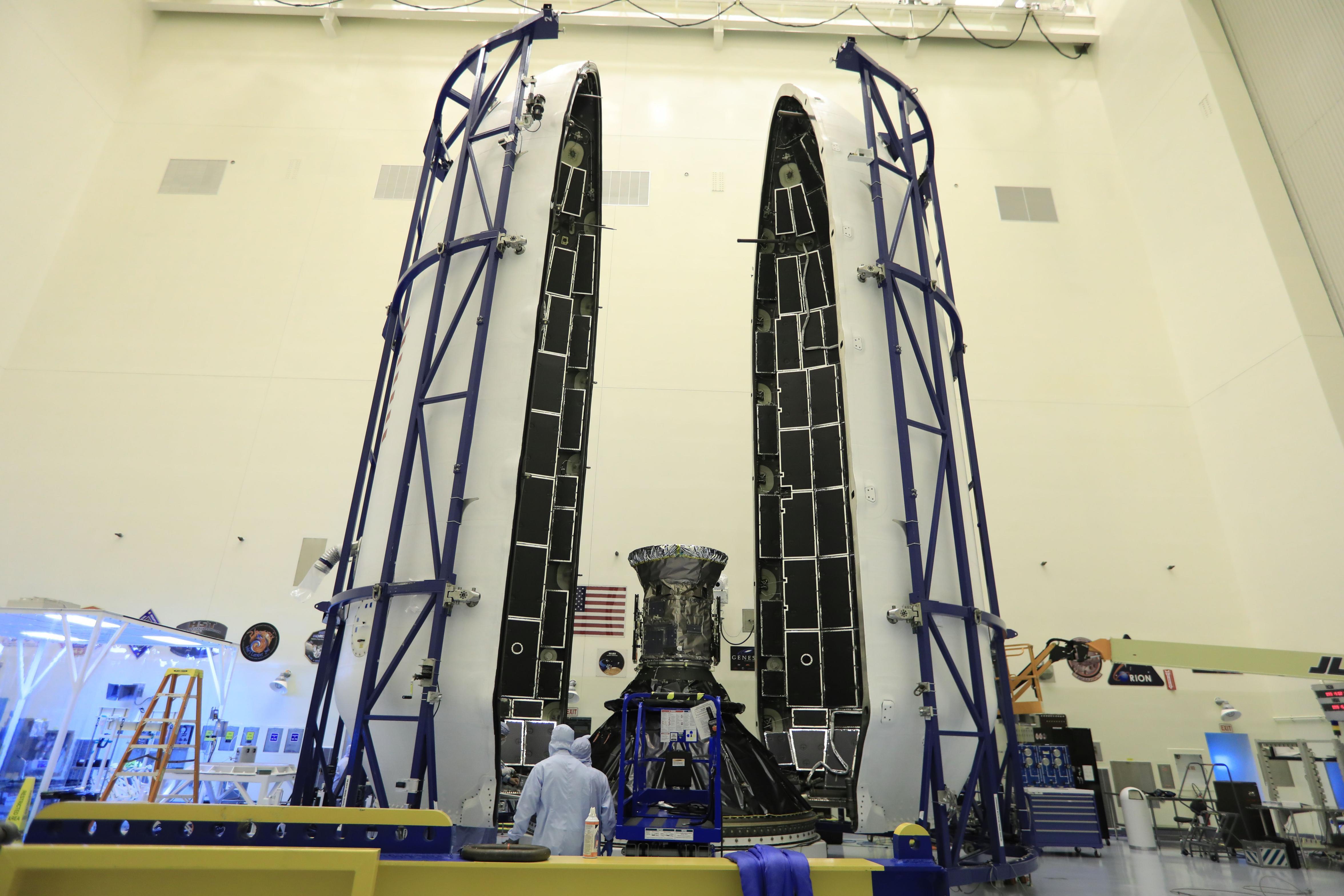 TESS fairing encapsulation 2 (NASA)(c)