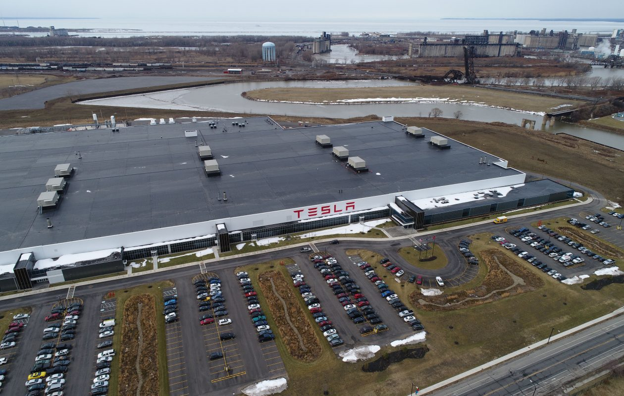 Tesla Gigafactory 2 Buffalo NY [Credit: Derek Gee/The Buffalo News]