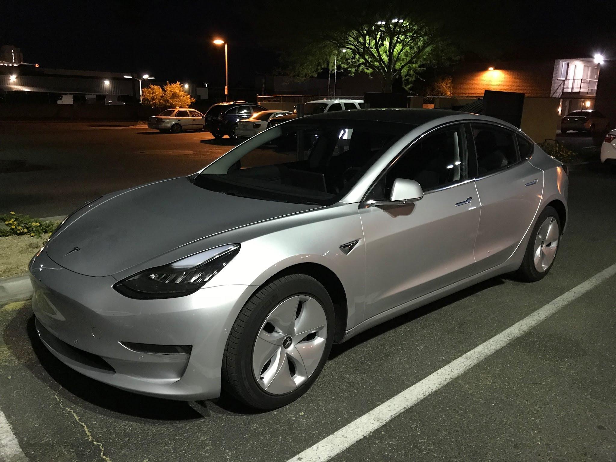 Tesla Model 3 Aero mod [Credit: Peter Lafford/Facebook]