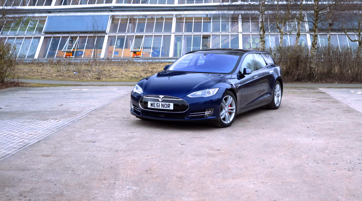 Tesla Model S Shooting Brake features & cost explained in new video