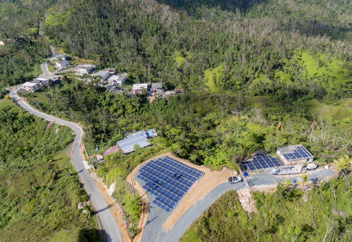Tesla Puerto Rico 2 solar panels [Credit: Tesla]