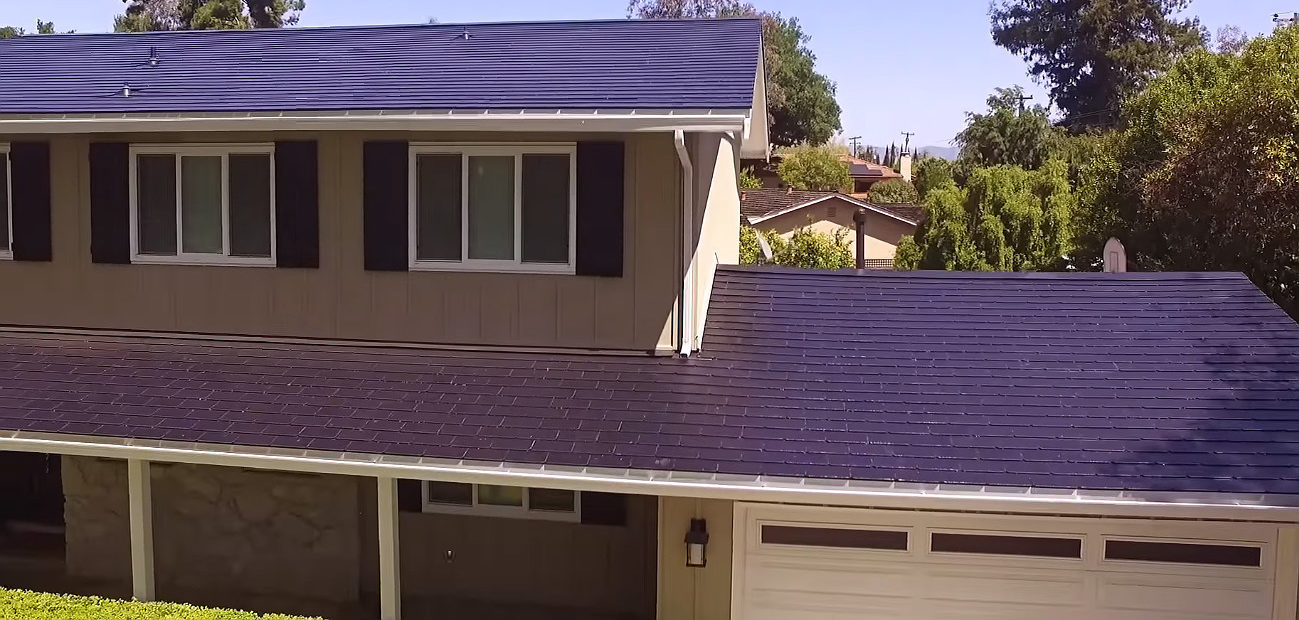 Tesla roof update