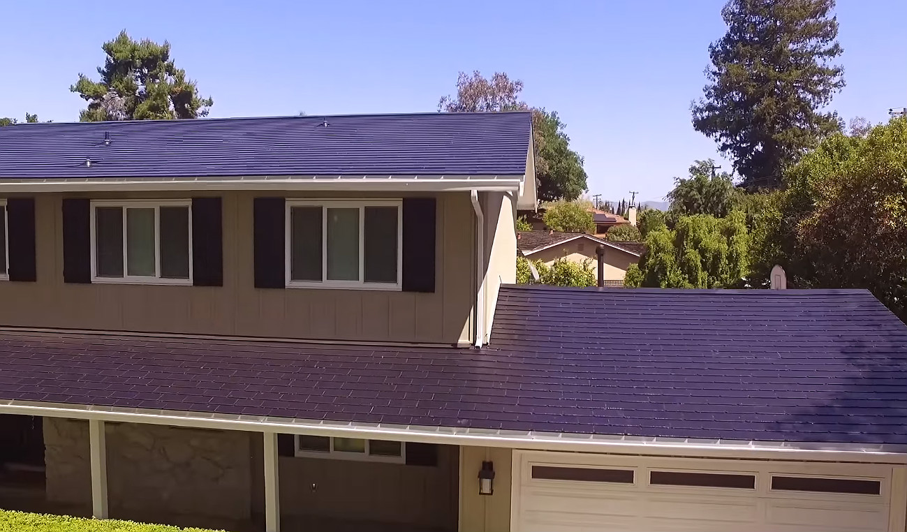 tesla solar roof customer gives insights on cost and installation process. Black Bedroom Furniture Sets. Home Design Ideas