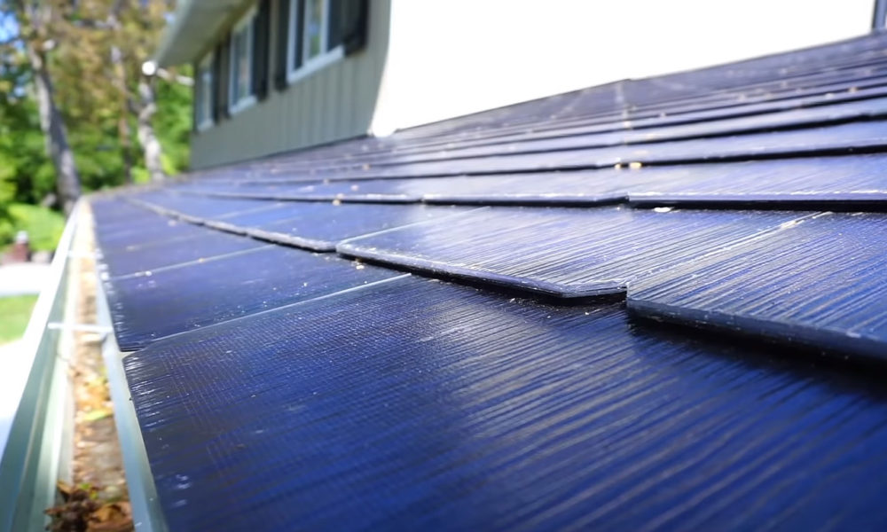 Tesla Solar Roof Tile Design And Installation Showcased In