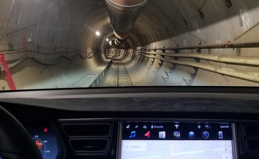 Tesla The Boring Company tunnel