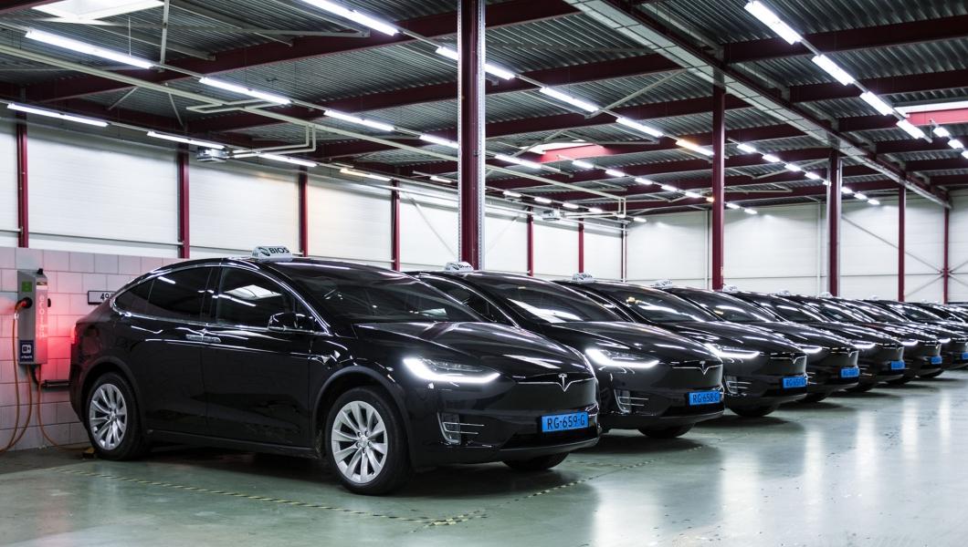 bios-groep taxi fleet amsterdam airport