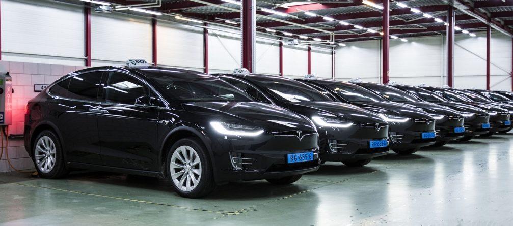 Image result for Tesla Model S & X in Netherlands
