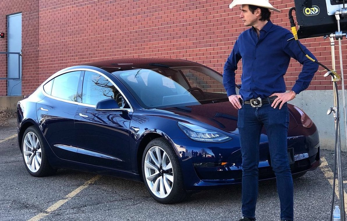 Kimbal Musk S Tesla Model 3 Giveaway Is About The Bigger