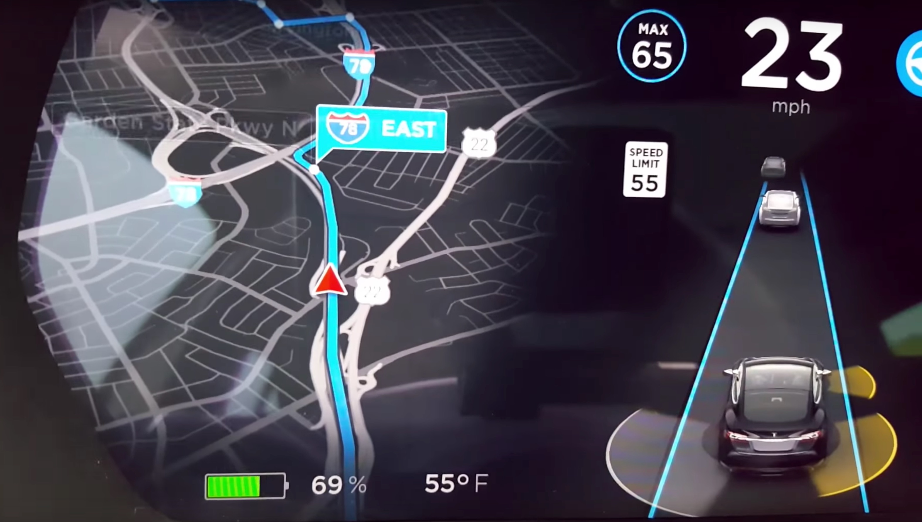 tesla-new-navigation-maps-update
