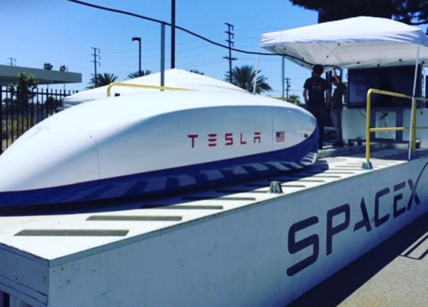 tesla-spacex-pusher [Credit: Elon Musk/Instagram]