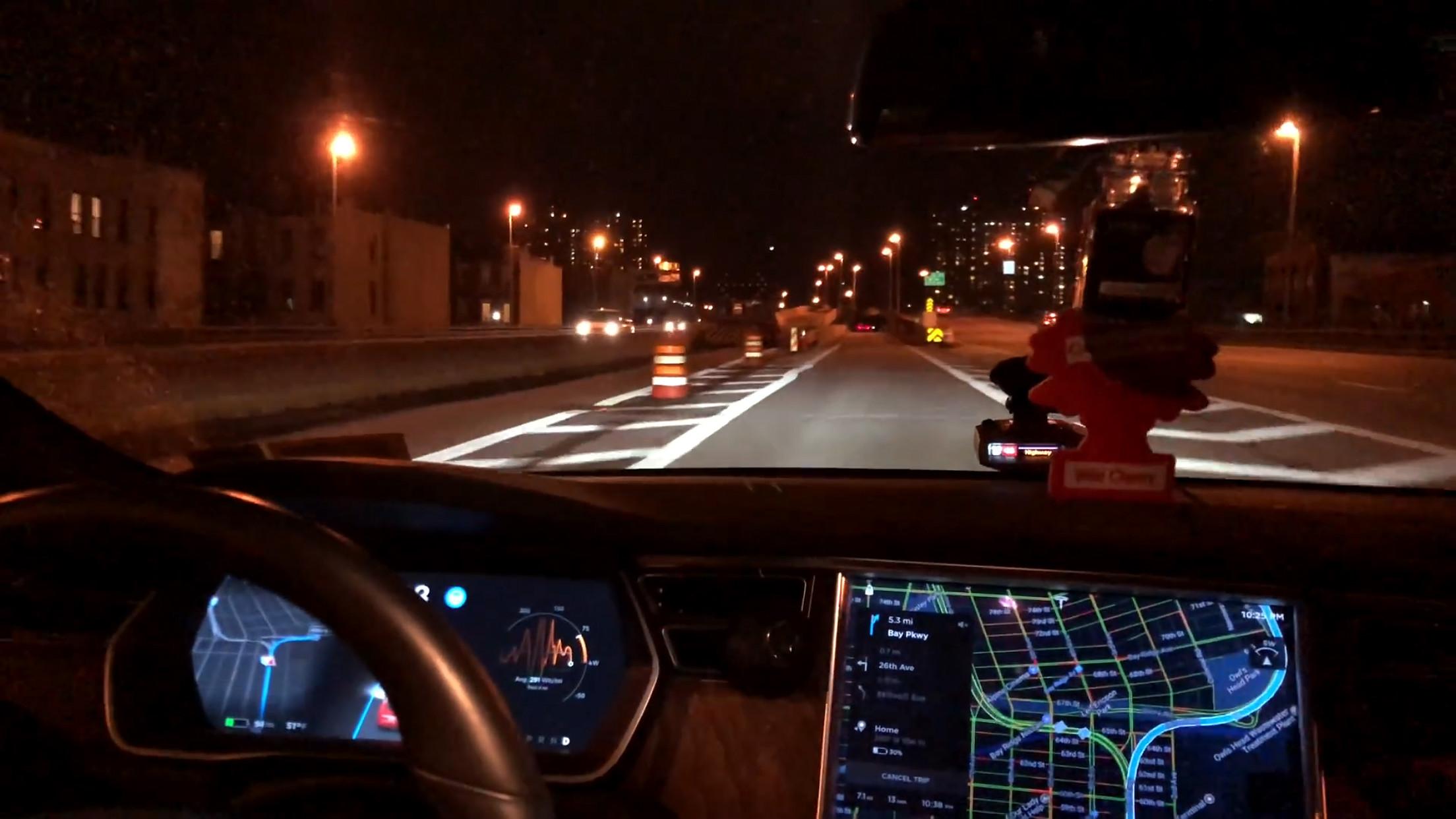 Autopilot-construction-zone