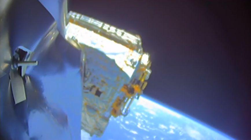 Bangabandhu-1 predeployment (SpaceX)
