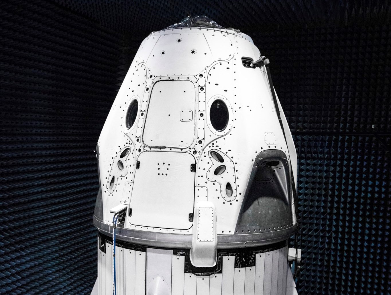 Crew Dragon DM-1 May 2018 (SpaceX)