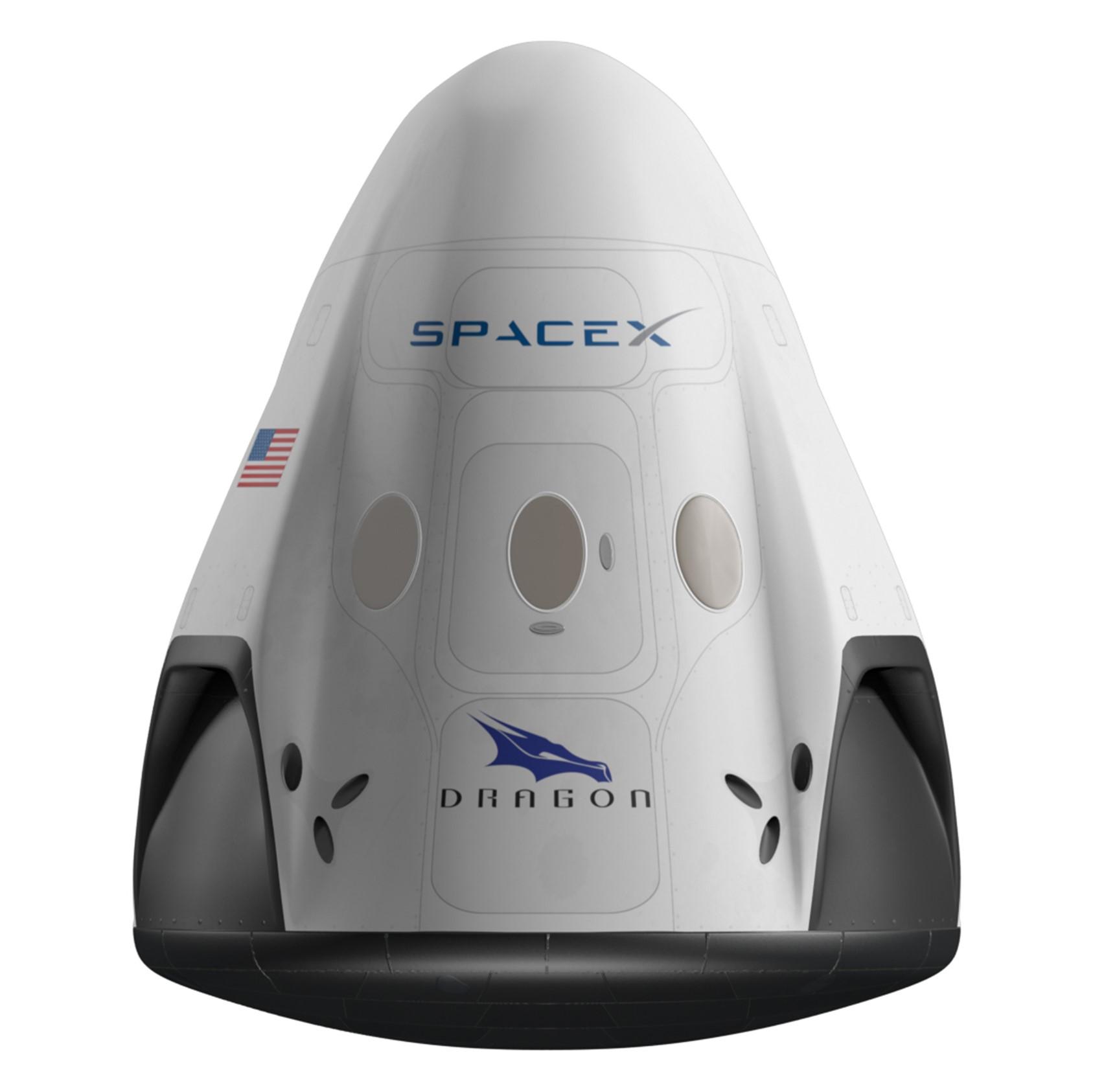 Crew Dragon render (SpaceX)