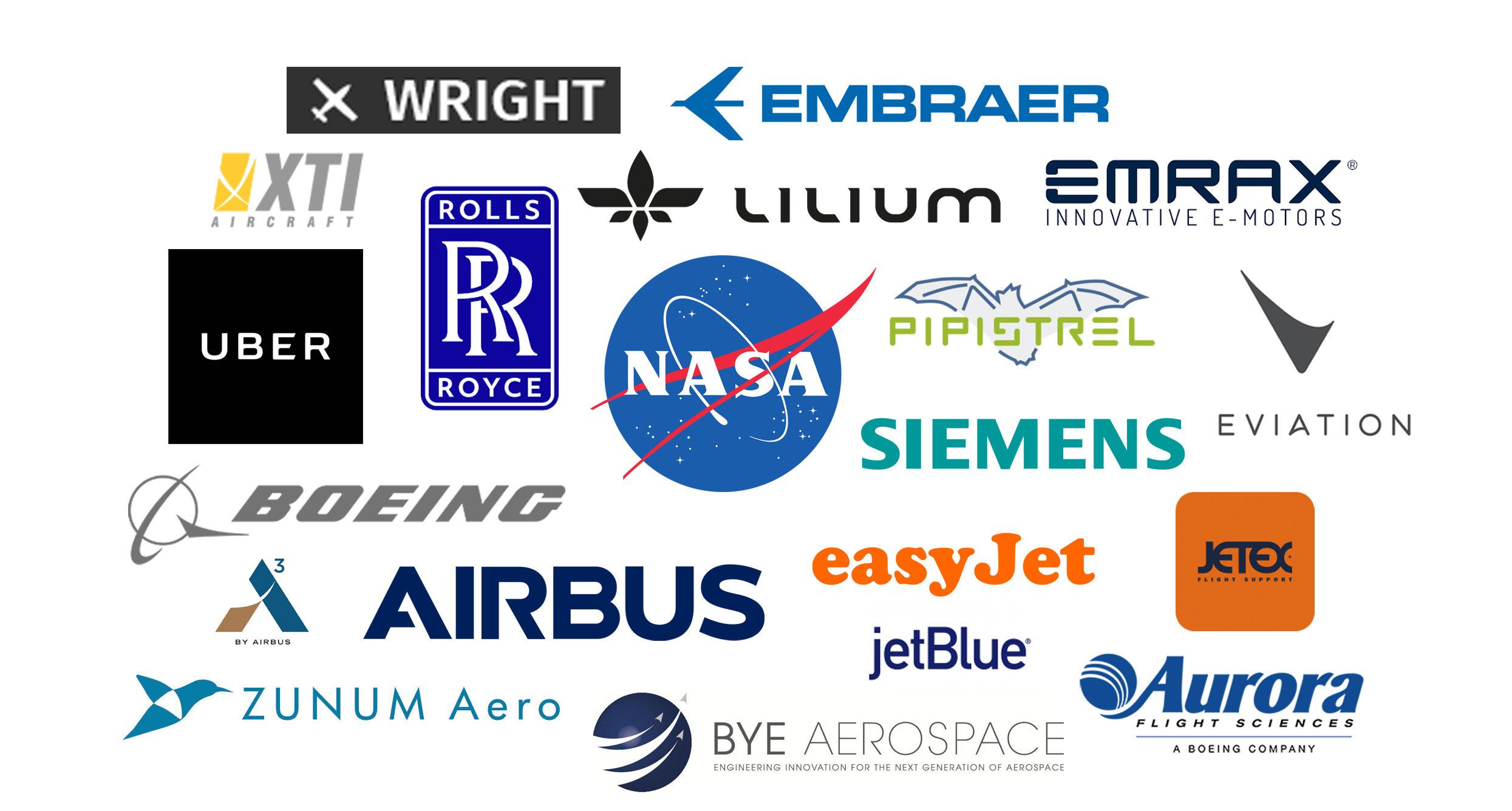 Electric Aircraft Logos