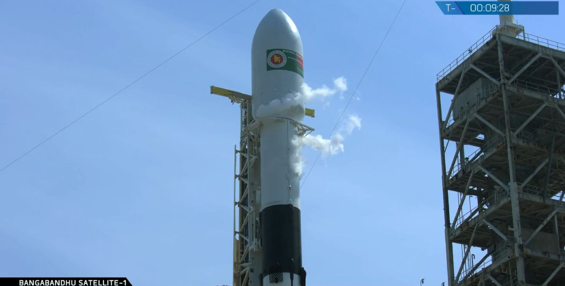 F9 1046 S2 venting (SpaceX)
