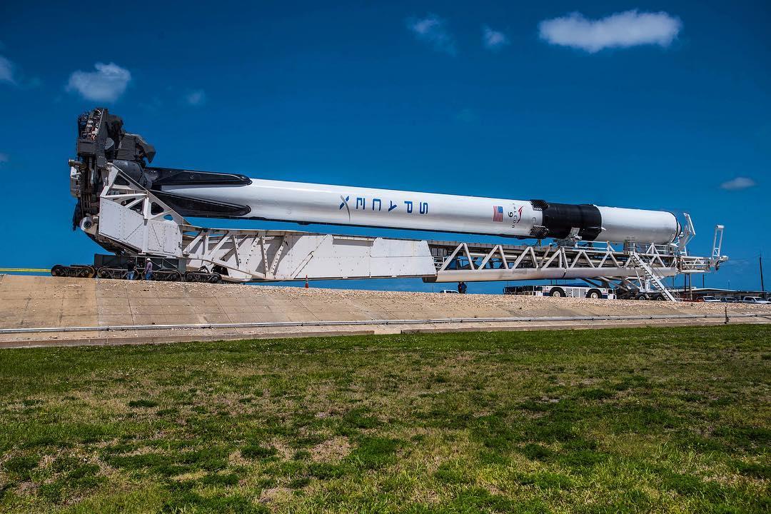 Falcon 9 Block 5 1046 rollout (Elon Musk)