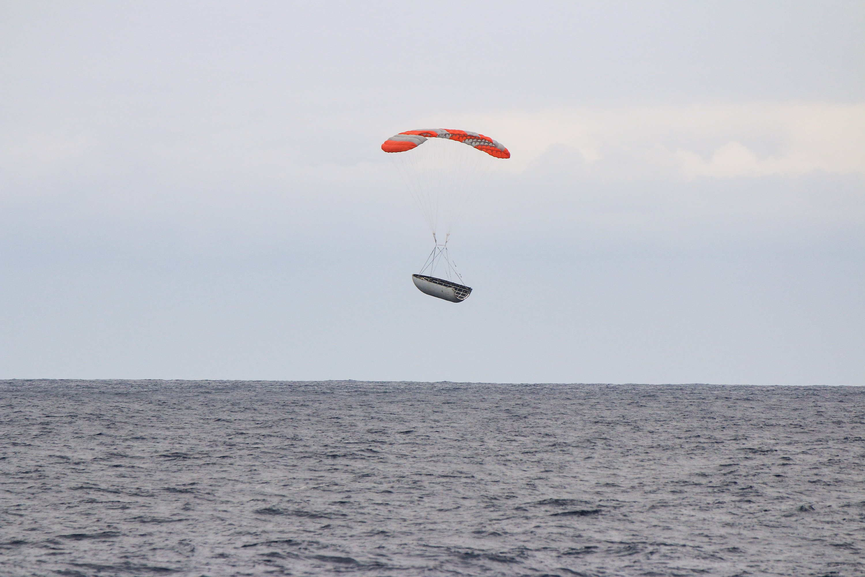 Falcon fairing recovery (SpaceX) 1