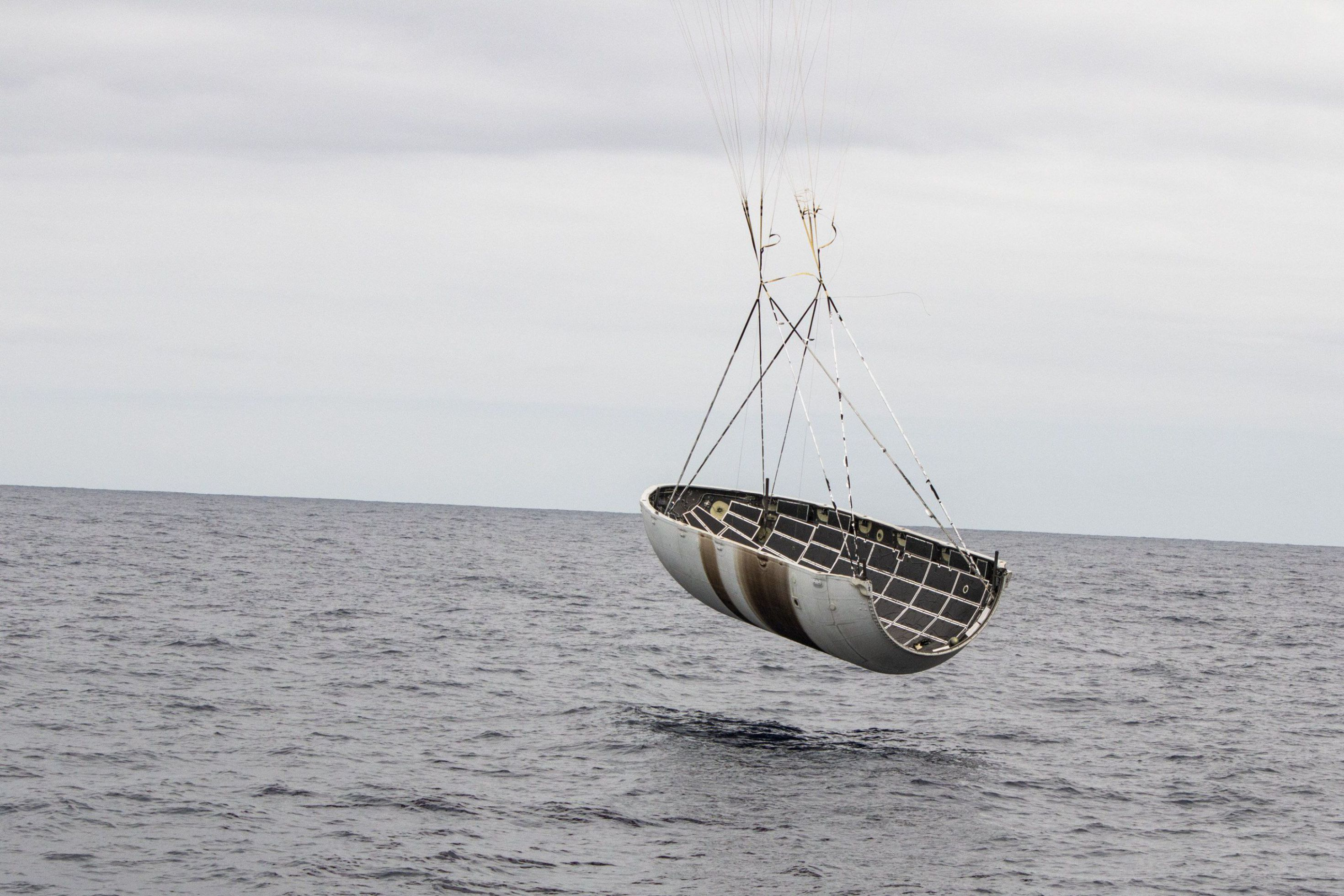 Falcon fairing recovery (SpaceX) 2