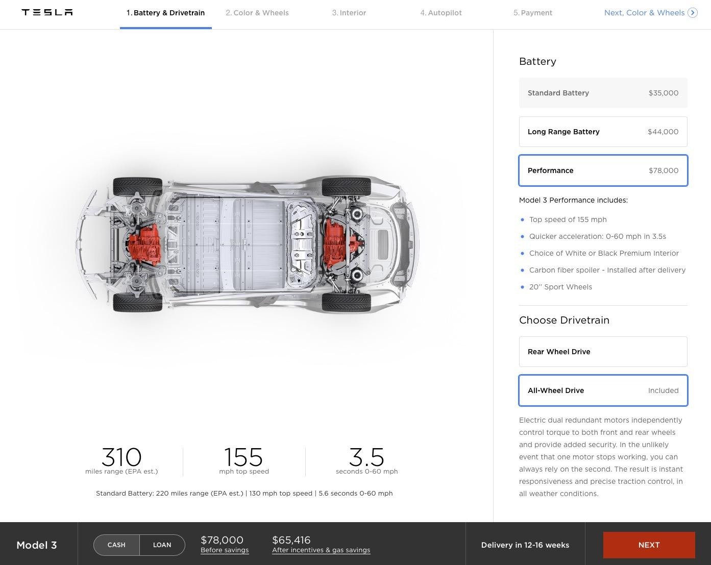 Step 1 – Performance Drivetrain
