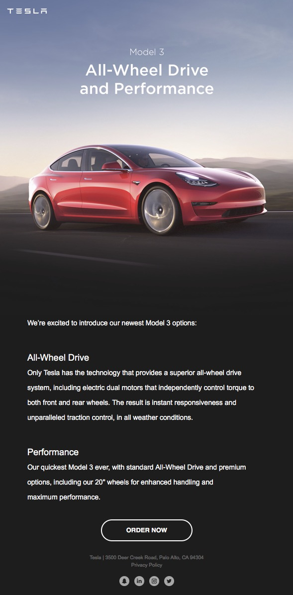 Tesla-Model-3-AWD-email-invite