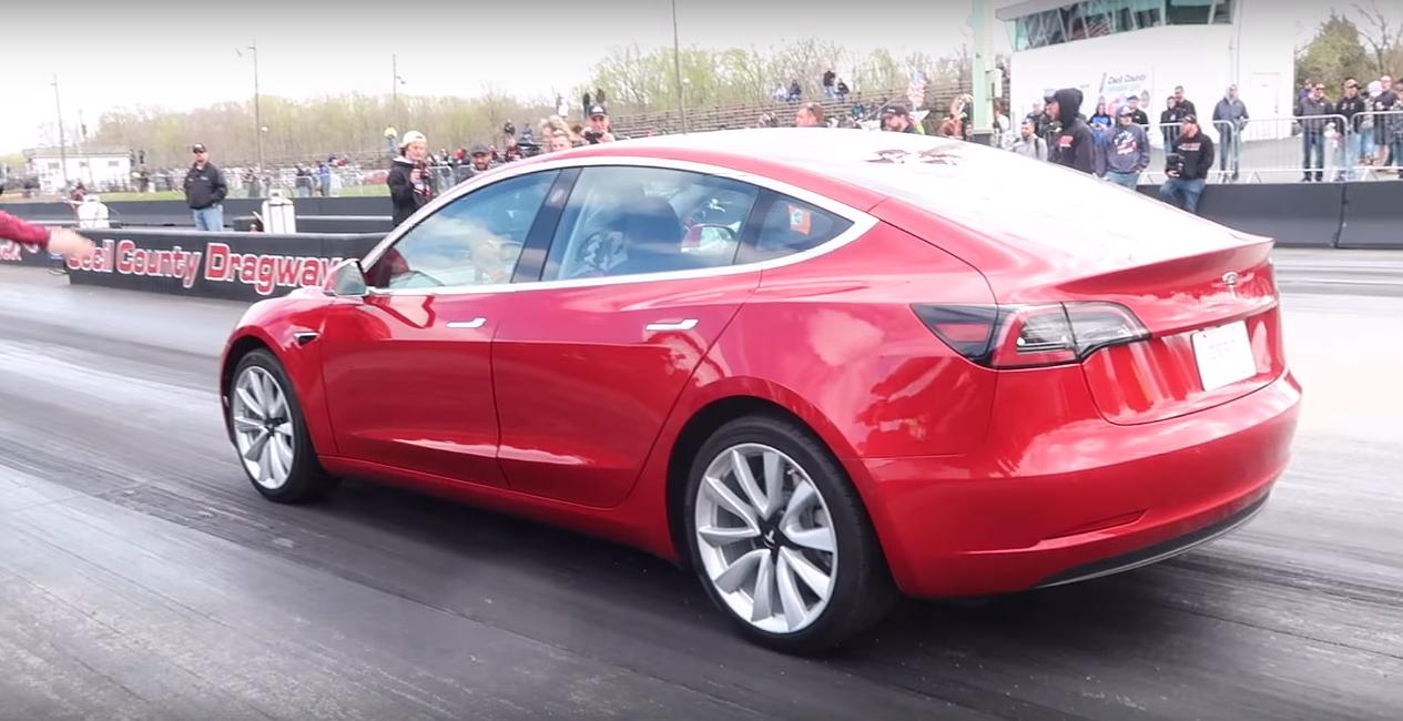 Tesla-Model-3-quarter-mile-record