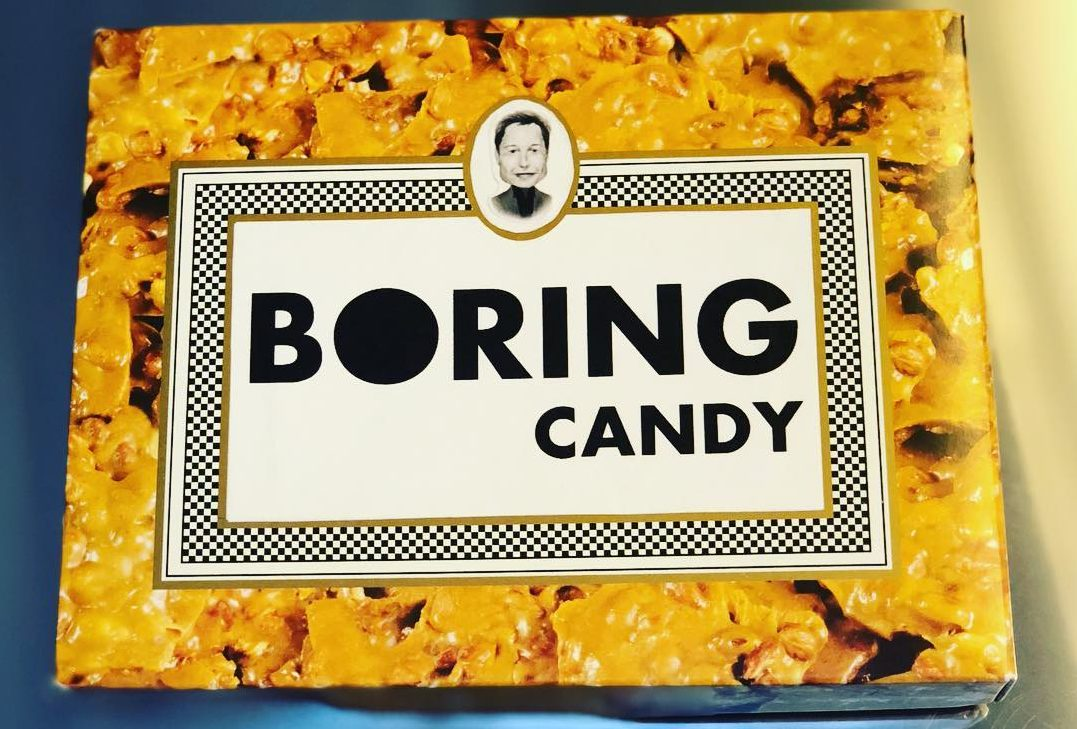 Elon Musk Provides First Look At The Boring Candy