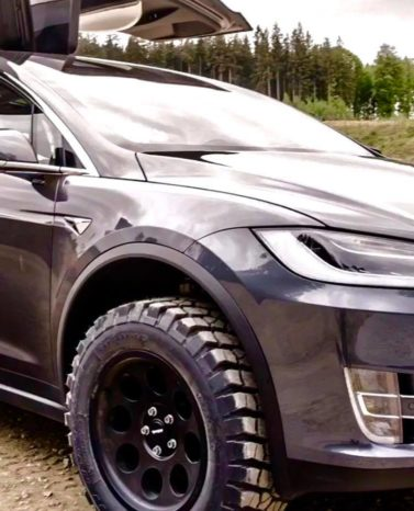 4×4 Off Road >> Tesla Model X looks like a beast with some off-road treatment | Teslarati Forum