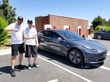 Tesla Model 3 surpasses 600-mile mark in hypermile ...